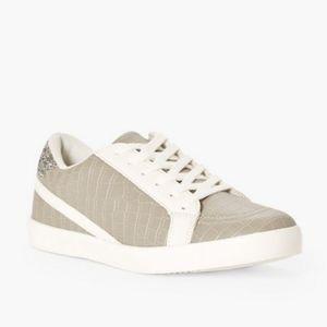🖤JustFab Paisley Sneaker - Light Grey NIB